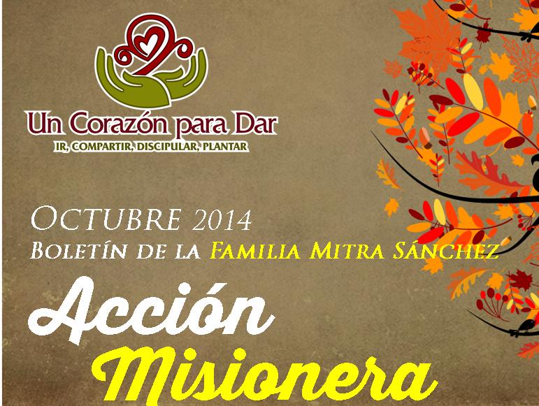 Boletin Misionero Octubre 2014