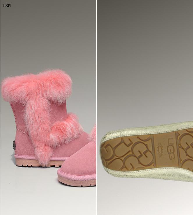 botas estilo ugg para niñas